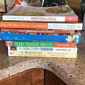 Cookbooks. Each cookbook is $10